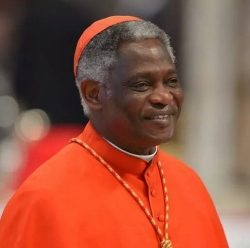 CARDINAL PETER K.A. TURKSON, PRESIDENT, PONTIFICAL COUNCIL FOR JUSTICE AND PEACE