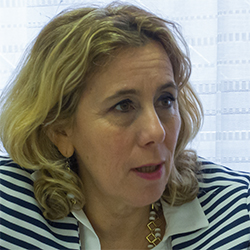 LAURA STOPPONI, EUROPE DIRECTOR, CARITAS ITALIANA