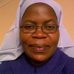 Sr. Eneless Chimbali, SBVM, Secretary General, Association of Consecrated Women in Eastern and Central Africa