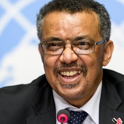 Tedros Ghebreyesus, Director-General, World Heath Organization